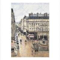 Rue Saint Honore Print