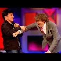 Jackie Chan Doing Stunts in Interviews