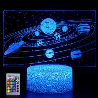Solar System 3D Lamp