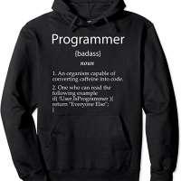 Programmer Definition Pullover Hoodie