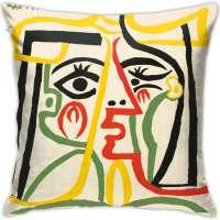 Head of A Woman Pablo Picasso Square Pillowcase