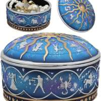 Ancient Greek Astrological Jewelry Container