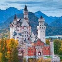Neuschwanstein Castle Germany Art Print