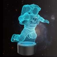 3D Astronaut Illusion Lamp