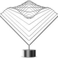 Atellani Square Wave Horizon Kinetic Sculpture