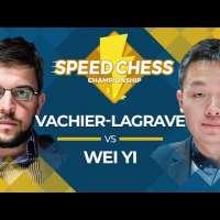 Wei Yi Wins Five Straight vs. MVL: Speed Chess Championship 2019