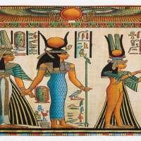 Egyptian Print Kitchen Mat