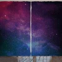 Lunarable Star Curtains