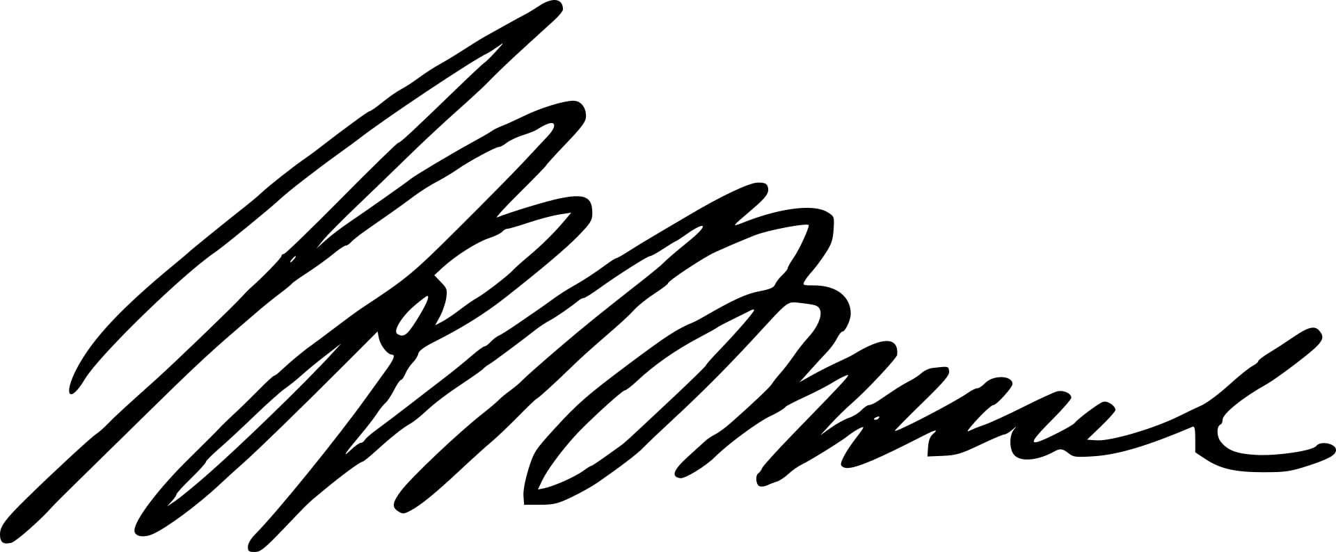 Isambard Kingdom Brunel Signature