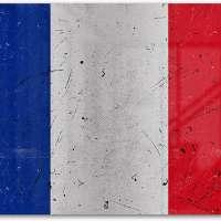 Flag Of France Metal Art Wall Décor