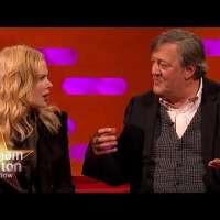Nicole Kidman Is Blown Away By Stephen Fry's Intelligence