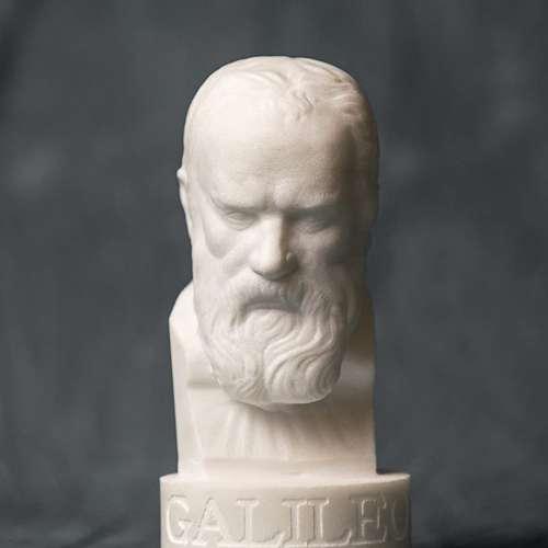 Galileo Galilei Bust