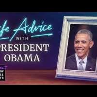 President Barack Obama Gives Us Life Advice
