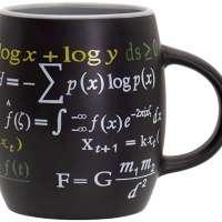 Math Mug, 15 oz. Coffee Mug Featuring Famous Mathematical Formulas