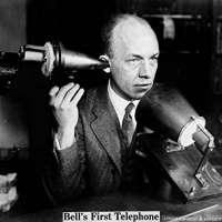 Alexander Graham Bell's First Telephone Photo