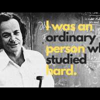There's no such thing as MIRACLE, Richard Feynman advice to students