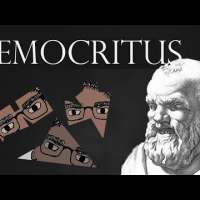 DEMOCRITUS, Atoms and Void - History of Philosophy with Prof. Footy