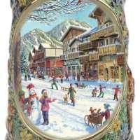 Winter In Germany Beer Mug