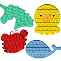 wikkeny Animals Push Pop Bubble, Sensory Fidget Toy, Poke Pop Toys