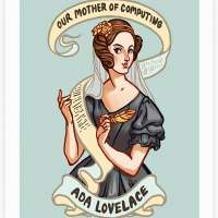 Ada Lovelace Art Print Poster