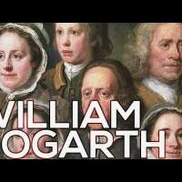 William Hogarth: A collection of 207 paintings (HD)