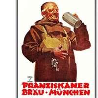 Franziskaner German Beer Poster
