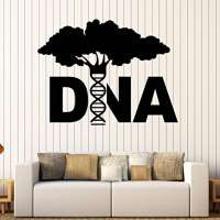 DNA Tree Wall Decal
