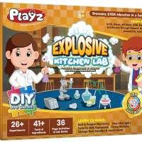 layz Explosive Kitchen Lab 26+ Physics, Chemistry & Biology Science Experiments Set