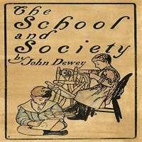 Dewey School And Society Poster Print