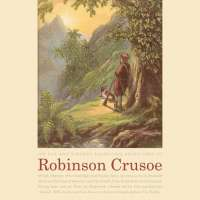 Robinson Crusoe Landscape Art Poster