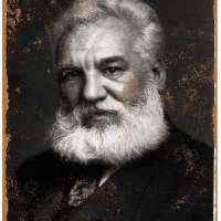 Alexander Graham Bell Portrait