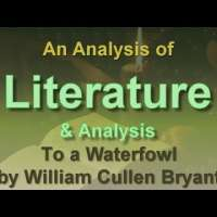 Analysis of To a Waterfowl by William Cullen Bryant