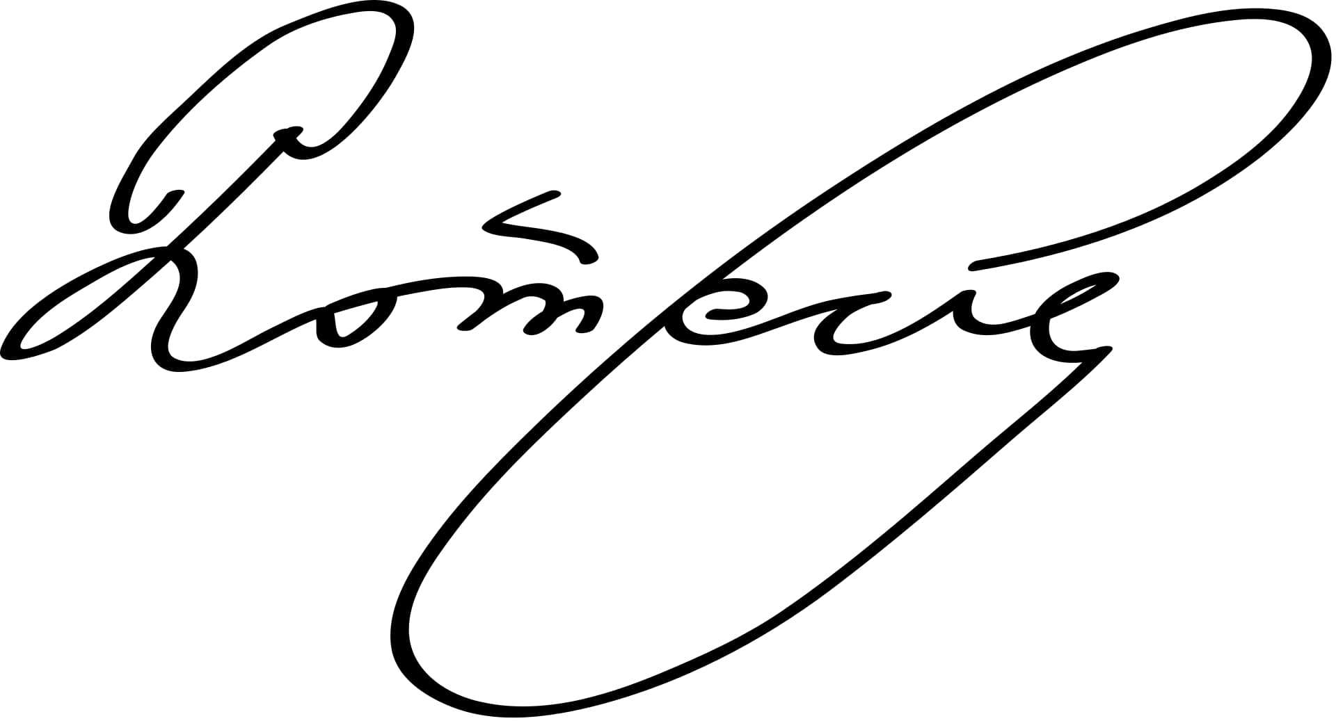 Henri Poincaré Signature