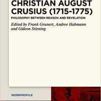 Christian August Crusius 1715-1775