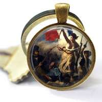 Liberty Leading The People Keychain