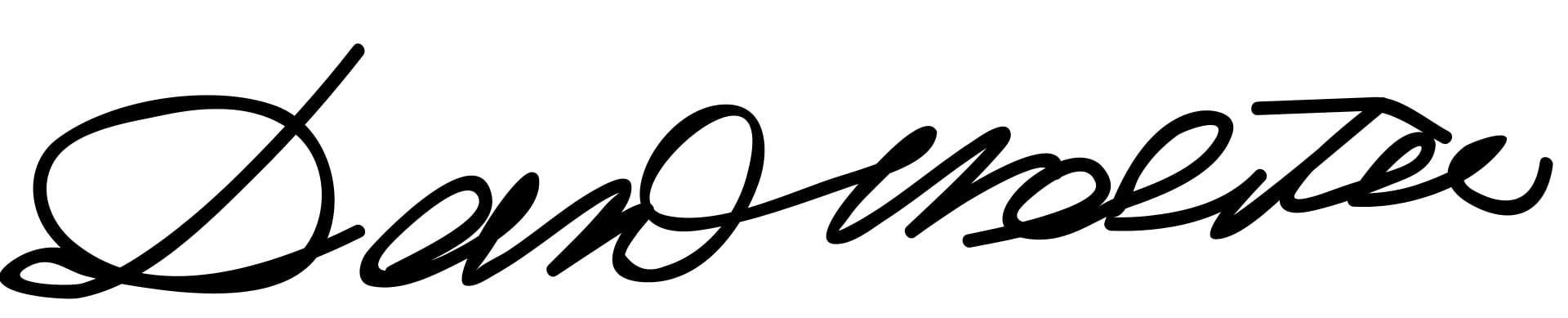 Daniel Webster Signature
