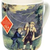 Benjamin Franklin Tea Mug