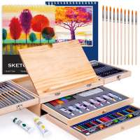 85 Piece Deluxe Wooden Art Set