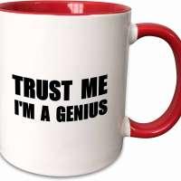 Me I'm A Genius Ceramic Mug