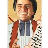 Carl Sagan Celebrity Prayer Candle