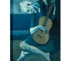 The Old Guitarist by Pablo Picasso Canvas Art