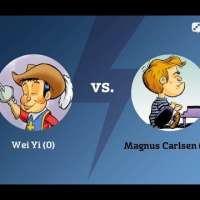 Wei Yi - Magnus Carlsen: The first chess game between the prodigy and the World Champion