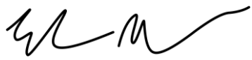 Elon Musk Signature