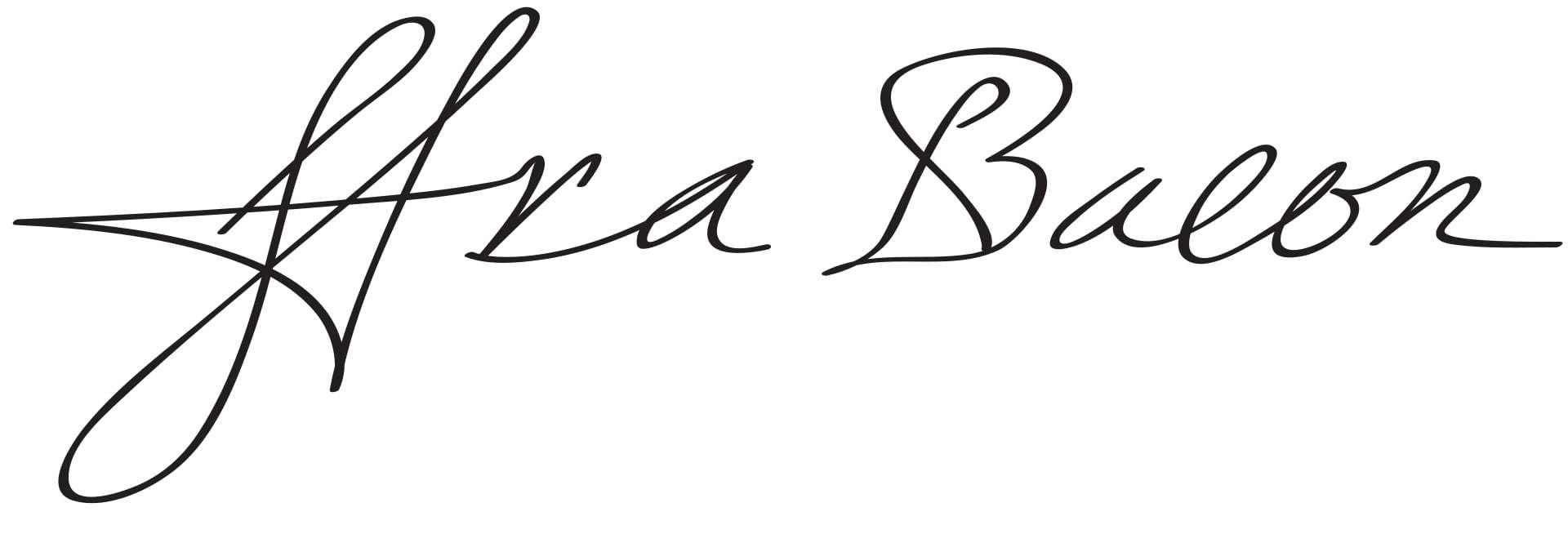 Francis Bacon Signature