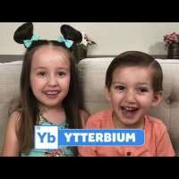 Brielle's 3-Year-Old Brother Caden Can Name All of the Elements!
