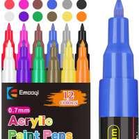 Acrylic Paint Pens Set