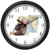 Andrew Jackson Wall Clock