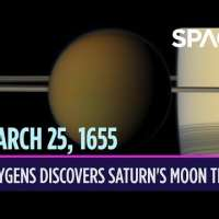 OTD in Space – March 25: Christiaan Huygens Discovers Saturn's Moon Titan