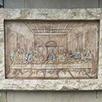 Last Supper Wall Relief