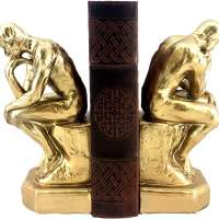 Rodin's Thinker Bookends Set